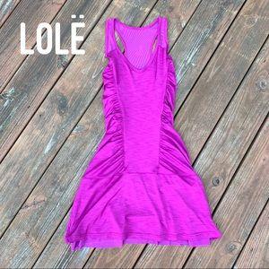 EUC LOLE Racerback Athletic / Tennis Dress